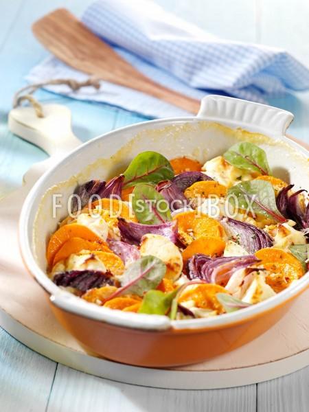 Süßkartoffelauflauf 2